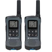 Motorola Talkabout& #174; Rechargeable Two-Way Radios,Gray, 2 Pack