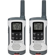 Motorola Talkabout ® Rechargeable Two-Way Radios,White, 2 Pack