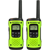 Motorola Talkabout® Waterproof Rechargeable Two-Way Radios, Yellow, 2 Pack