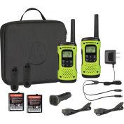 Motorola Talkabout® Waterproof Rechargeable Two-Way Radios, 2 Pack