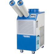 Industrial Portable AC, 1.1 Ton w/ Cold Air Nozzles 13,200 BTU, 115V
