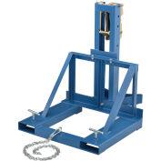 Forklift Mount Drum Grab, Single Drum, 1000 Lb. Capacity