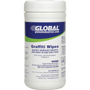 Graffiti Wipes, 40 Wipes/Canister, 6 Canisters/Case