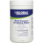 Multi-Purpose Scrubbing Wipes, 70 Wipes/Canister, 6 Canisters/Case