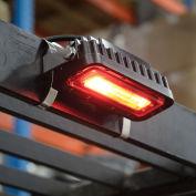 """Side-Mount LED Forklift """"Red Zone"""" Pedestrian Safety Warning Light"""