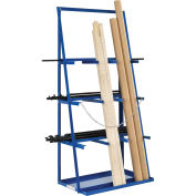 "Vertical Bar Rack, 3000 LB Capacity, 39""W x 24""D x 84""H"