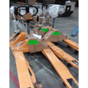 OPEN-BOX Pallet Jack Truck 5500 Lb. Capacity 27 x 48 - Inventory Clearance