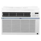 LG LW8017ERSM Smart ThinQ Wifi Control Window Air Conditioner, 8,000 BTU, 115V, Energy Star