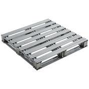 """36""""L x 36""""W Galvanized Steel Pallet"""