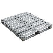 """42""""L x 48""""W Galvanized Steel Pallet"""