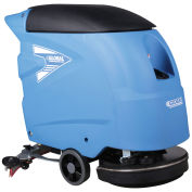 """Auto Floor Scrubber 18"""" Cleaning Path"""