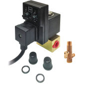 """Pneumatics, Electric Drain with Strainer, 2.5 GPM, 1/4"""" NPT, 1-Phase 115V"""