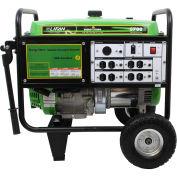 5000 Watts Portable Generator, Gasoline, Electric/Recoil Start, 120V