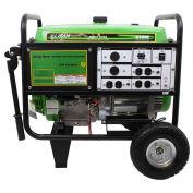 7500 Watts Portable Generator, Gasoline, Electric/Recoil Start, 120/240V