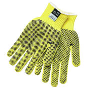 MCR Safety Kevlar® Two-Sided PVC Dots Gloves, X-Large, 1-Pair, 9366XL