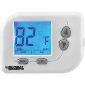 Programmable Thermostat, Heat, Cool, Off Mode, 5-1-1 Programmable