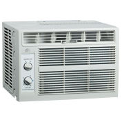 Window Air Conditioner 5000 BTU, Cool Only, Mech. Controls, 115V