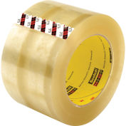 "3M Scotch 373 Carton Sealing Tape, 2.5 Mil, 3"" x 110 Yds., Clear - Pkg Qty 24"