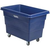 8 Bushel HDPE Plastic Box Truck w/o Base, Blue
