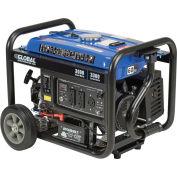 3000 Watts Portable Generator, Gasoline, Recoil Start, 120V