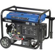 6500 Watts Portable Generator, Gasoline, Electric/Recoil Start, 120/240V