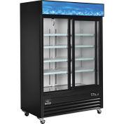 """Merchandiser Refrigerator, 2 Door, 53.1""""Wx31.9""""Dx84.4""""H"""