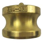 "USA Sealing BULK-CGF-254, 1/2"" Brass Type DP Adapter with Dust Plug"