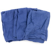 Reclaimed Surgical Huck Towels, 100% Cotton, Blue, 50 Lbs.