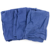 Reclaimed Surgical Huck Towels, 100% Cotton, Blue, 5 Lbs.