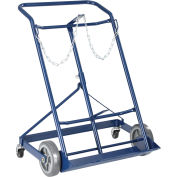 "Twin Cylinder Hand Truck, 500 Lb. Capacity, For 9-1/4"" Diameter Cylinders"