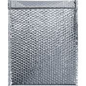 "Cool Shield Thermal Bubble Mailers, Self-Seal, 24"" x 20"" Silver, 50 Pack, INM2420"