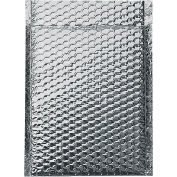 "Cool Shield Thermal Bubble Mailers, Self-Seal, 10"" x 10-1/2"" Silver, 100 Pack, INM1010"