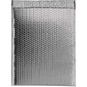 "Glamour Bubble Mailers, Self-Seal, 19"" x 22-1/2"",  Silver, 48 Pack, GBM1922S"