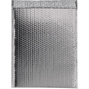 "Glamour Bubble Mailers, Self-Seal, 16"" x 17-1/2"",  Silver, 48 Pack, GBM1617S"