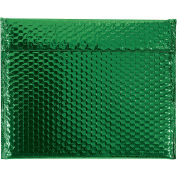 "Glamour Bubble Mailers, Self-Seal, 13-3/4"" x 11"",  Green, 48 Pack, GBM1311G"