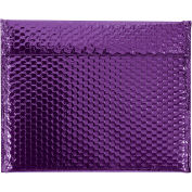 "Glamour Bubble Mailers, Self-Seal, 13-3/4"" x 11"",  Purple, 48 Pack, GBM1311PL"