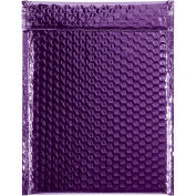 "Glamour Bubble Mailers, Self-Seal, 9"" x 11-1/2"",  Purple, 100 Pack, GBM0911PL"