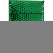 "Glamour Bubble Mailers, Self-Seal, 7-1/2"" x 11"",  Green, 72 Pack, GBM0711G"