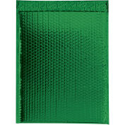"Glamour Bubble Mailers, Self-Seal, 13"" x 17-1/2"",  Green, 100 Pack, GBM1317G"