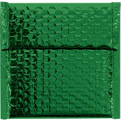 "Glamour Bubble Mailers, Self-Seal, 7"" x 6-3/4"",  Green, 72 Pack, GBM0706G"