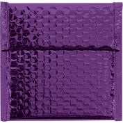 "Glamour Bubble Mailers, Self-Seal, 7"" x 6-3/4"",  Purple, 72 Pack, GBM0706PL"