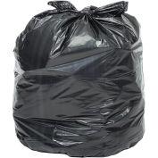 20-30 Gallon Heavy Duty Black Trash Bags, 1.5 Mil, 100 Bags/Case