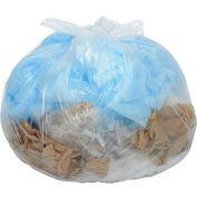 20-30 Gallon Heavy Duty Clear Trash Bags, 1.5 Mil, 100 Bags/Case