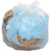 45-55 Gallon Light Duty Natural Trash Bags, 0.47 Mil, 200 Bags/Case