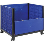 """Solid Wall Bulk Container 39-1/4""""L x 31-1/2""""W x 29""""H with One Drop Gate"""