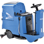 """Automatic Ride-On Floor Scrubber with 22"""" Cleaning Path"""