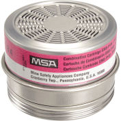 MSA 815179 Comfo® Respirator Cartridges, Acid Gas/P100, 6/Box