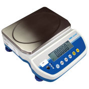Adam Equipment Latitude Compact Bench Scale, 12 lb x 0.002 lb, LBX 6