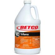 Betco Triforce Disinfectant, 4/Case -1 Gallon Bottle, Fresh, Orange - 3330400