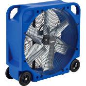 "28"" Blower Fan, Rotomold Plastic, Direct Drive, 6000 CFM, 1/3 HP"